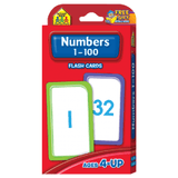Numbers 1-100 Flash Cards EducationalLearningGames.com