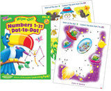 Numbers 1-31 Dot-to-Dot Wipe-off Workbook for Kids - EducationalLearningGames.com
