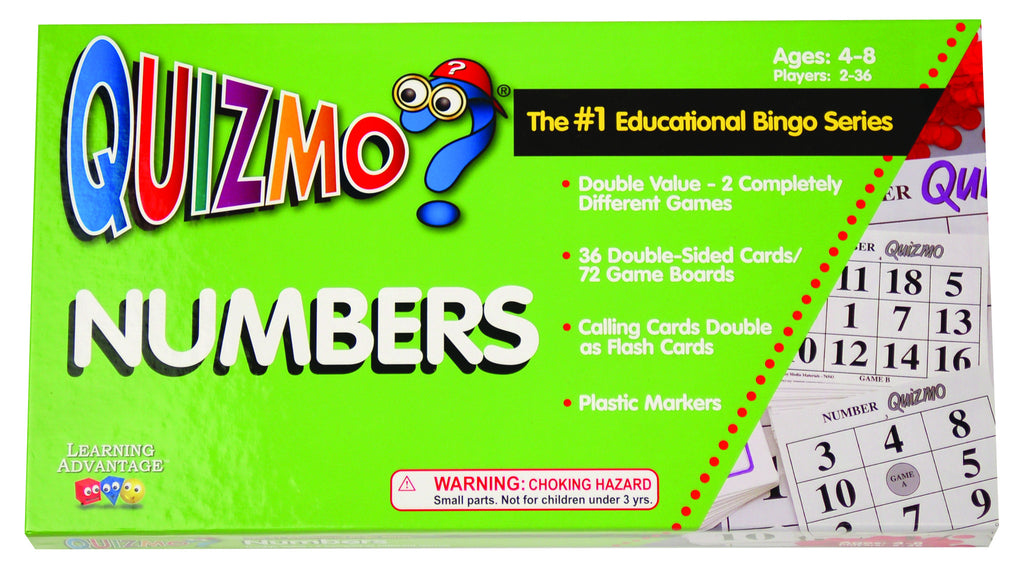 Numbers Quizmo® Game
