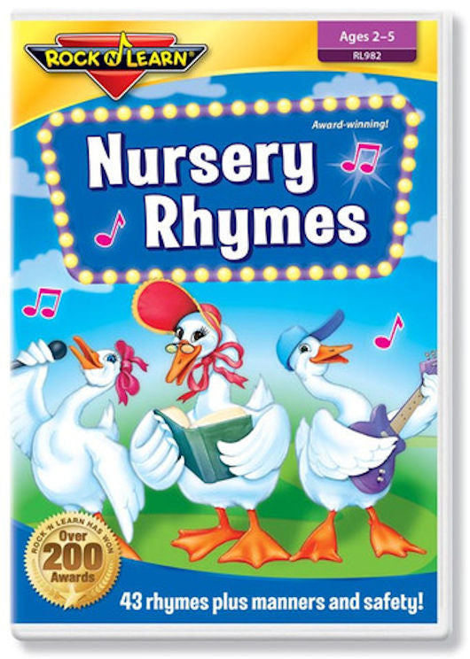 Nursery Rhymes DVD Video