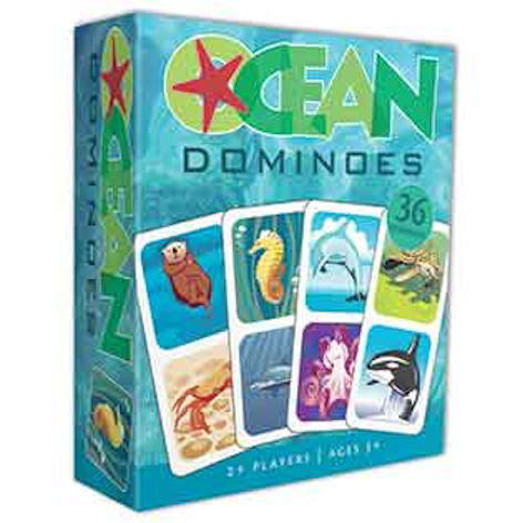Ocean Dominoes Game - EducationalLearningGames.com