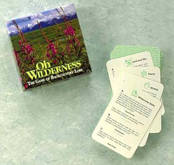 Oh Wilderness Card Game - EducationalLearningGames.com