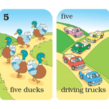 Old Maid Numbers Flash Cards - EducationalLearningGames.com