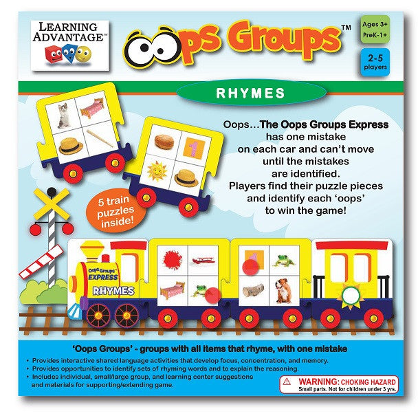 Oops Groups Rhymes Puzzle Game