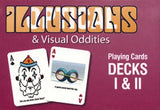 Optical Illusions & Visual Oddities Double Deck Set - EducationalLearningGames.com