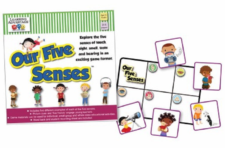 Our Five Senses Game