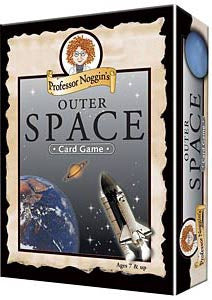 Outer Space Game Professor Noggin's Card Game - EducationalLearningGames.com