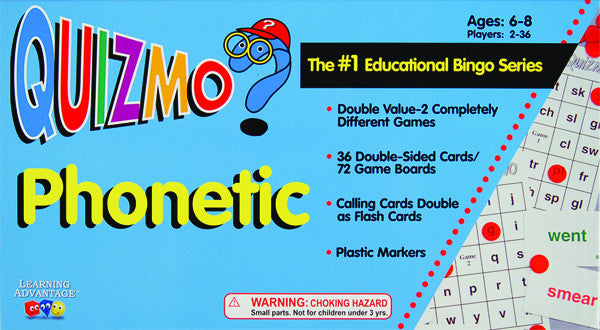Phonetic Quizmo Game
