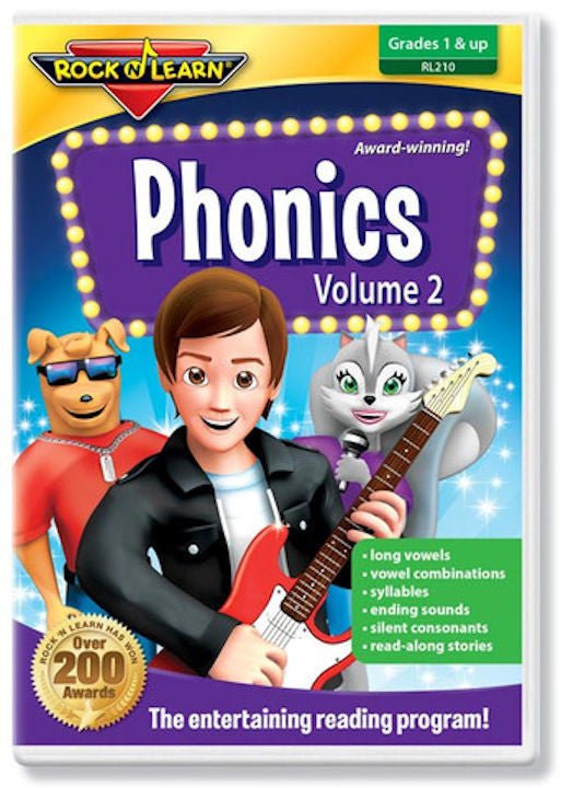 Phonics Volume 2 DVD