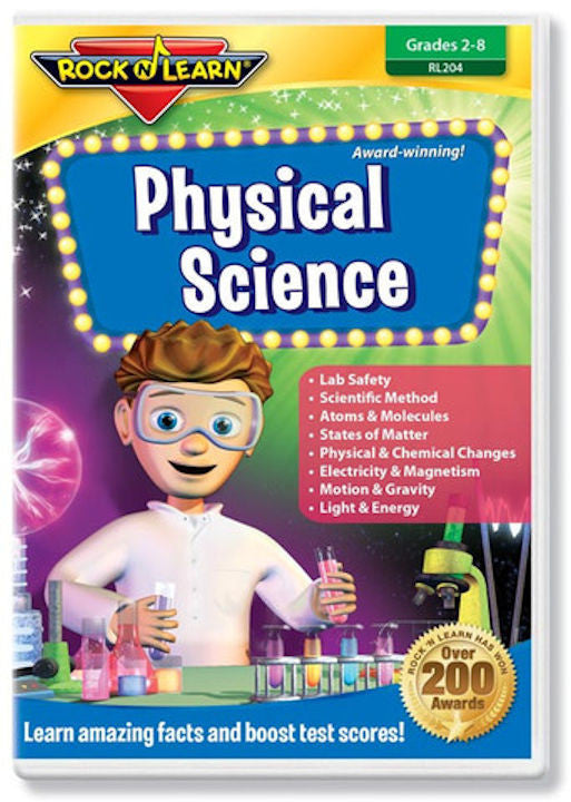Physical Science DVD EducationalLearningGames.com