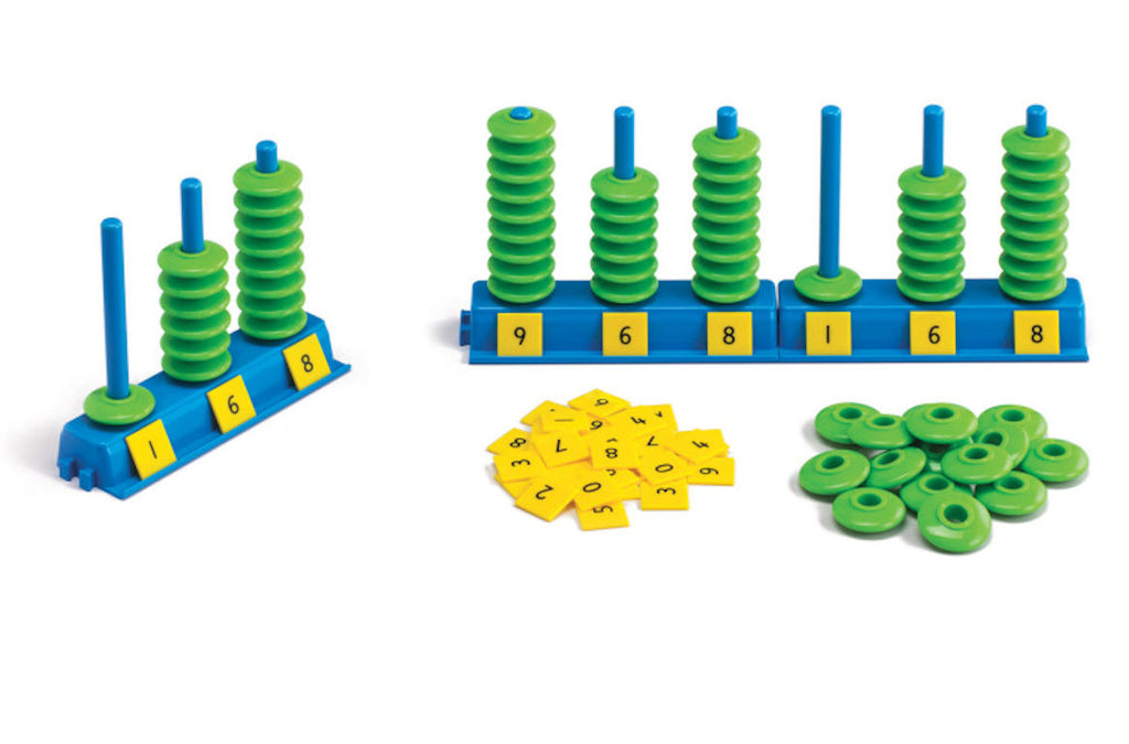 Place Value Abacus Game - EducationalLearningGames.com