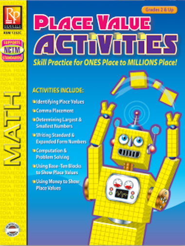 Place Value Activities Workbook - EducationalLearningGames.com