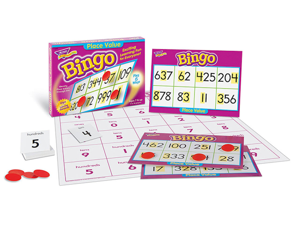 Place Value Bingo Game - EducationalLearningGames.com