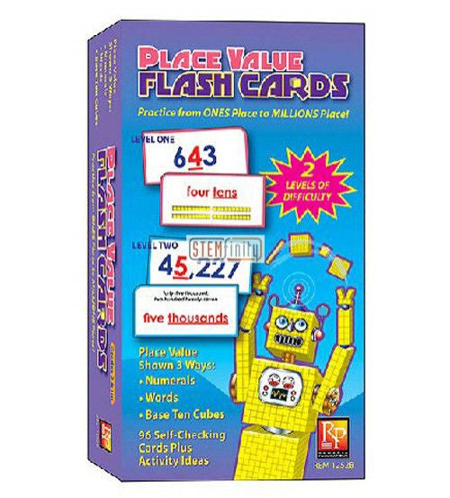 Place Value Flash Cards - EducationalLearningGames.com