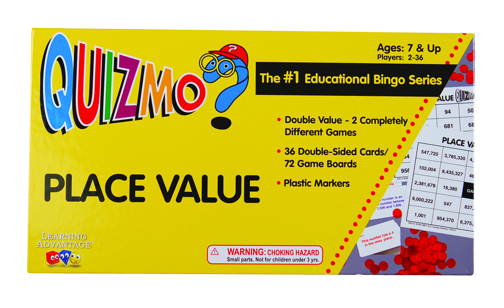 Place Value Quizmo Game