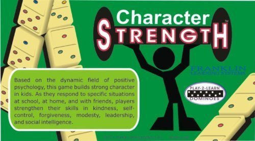 Play-2-Learn Dominoes Character Strength Dominoes - EducationalLearningGames.com