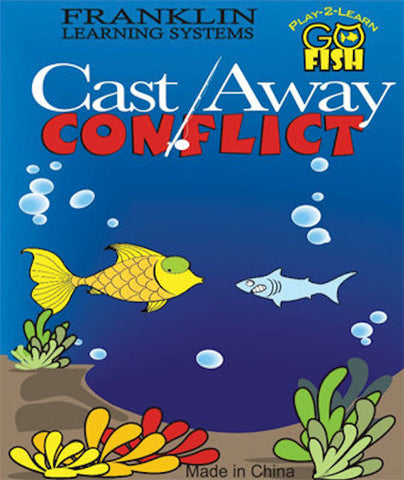 Play-2-Learn Go Fish Cast Away Conflict Game - EducationalLearningGames.com