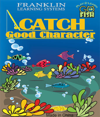 Play-2-Learn Go Fish Catch Good Character Game - EducationalLearningGames.com