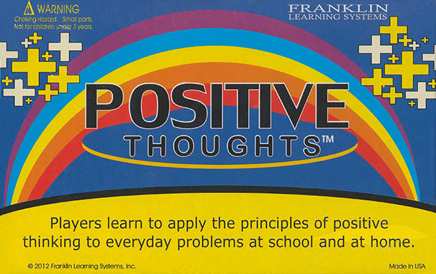 Positive Thoughts Game - EducationalLearningGames.com