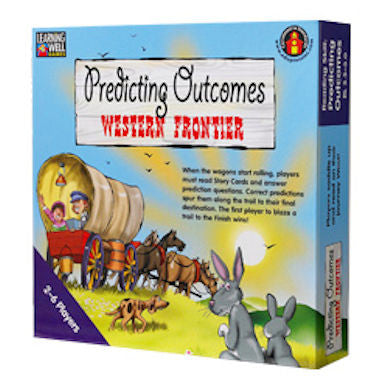 Predicting Outcomes Western Frontier Game, Blue Level - EducationalLearningGames.com