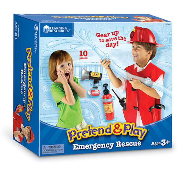 Pretend and Play Emergency Rescue - EducationalLearningGames.com