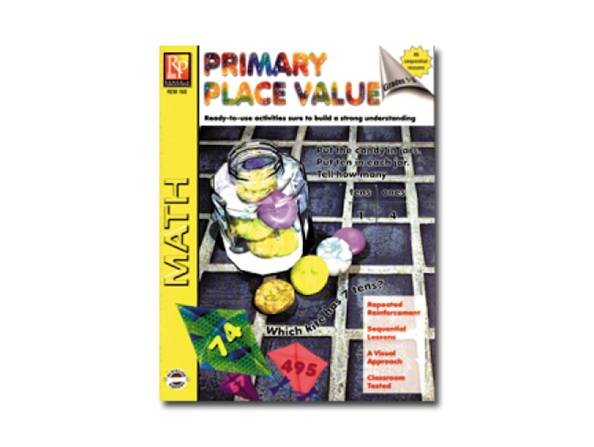 Primary Place Value Workbook - EducationalLearningGames.com