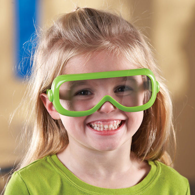 Primary Science Safety Glasses, Set of 6 with Stand