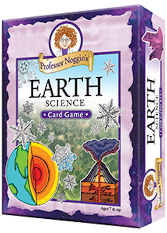 Professor Noggin's Earth Science Card Game - EducationalLearningGames.com