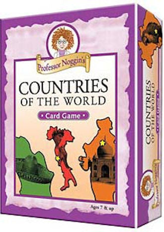 Professor Noggins Countries of the World Game - EducationalLearningGames.com