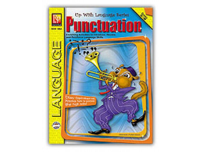Punctuation Workbook Up With Language Series - EducationalLearningGames.com