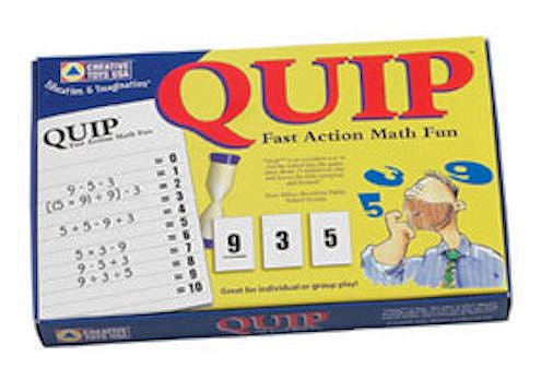 Quip Fast Action Math Fun - EducationalLearningGames.com