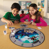 Race Around the Clock Elapsed Time Game EducationalLearningGames.com