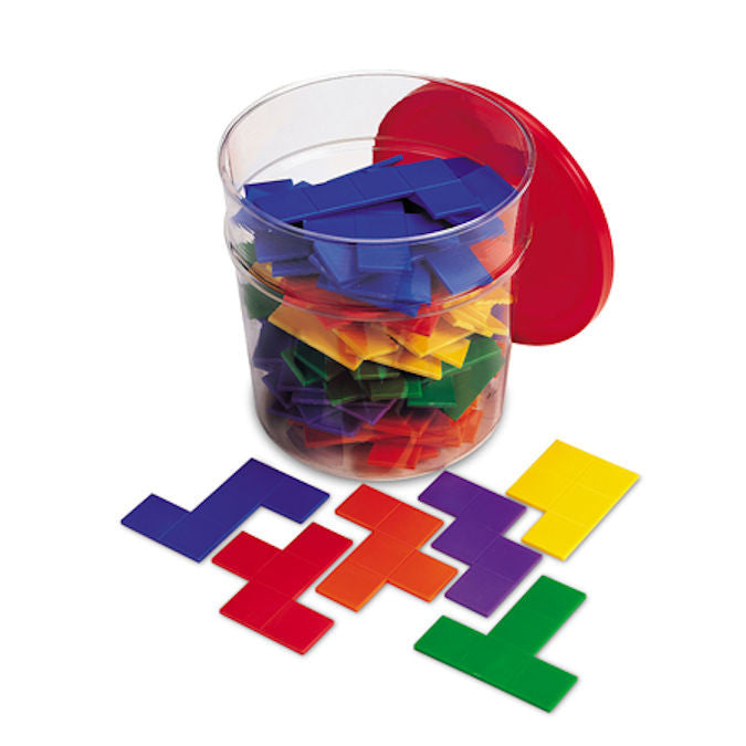 Rainbow Premier Pentominoes Game - EducationalLearningGames.com