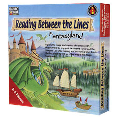 Reading Between the Lines Fantasyland Game, Red Level EducationalLearningGames.com