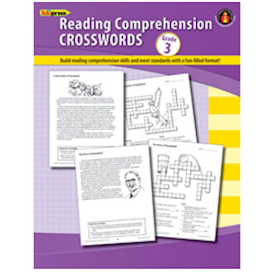 Reading Comprehension Crosswords, Grade 3 EducationalLearningGames.com