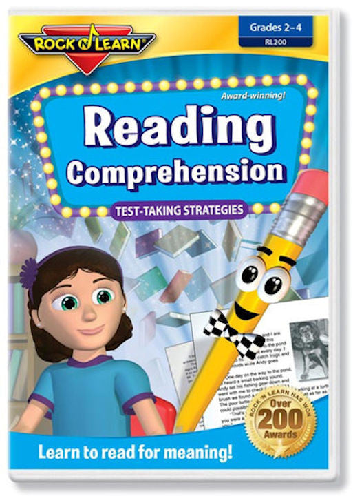 Reading Comprehension DVD Video EducationalLearningGames.com
