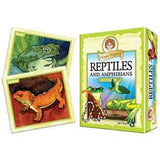 Reptiles and Amphibians Professor Noggin's Card Game - EducationalLearningGames.com