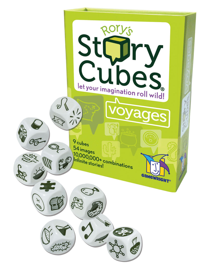 Rory's Story Cubes Voyages Dice Game