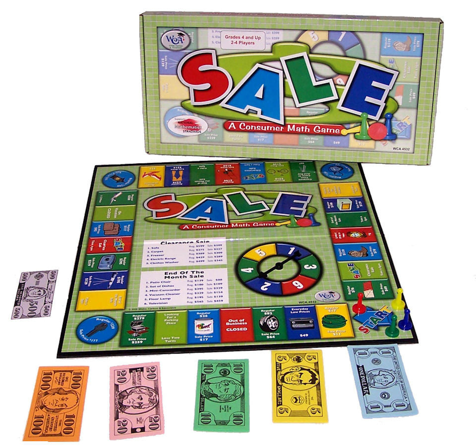 SALE A Consumer Math Game