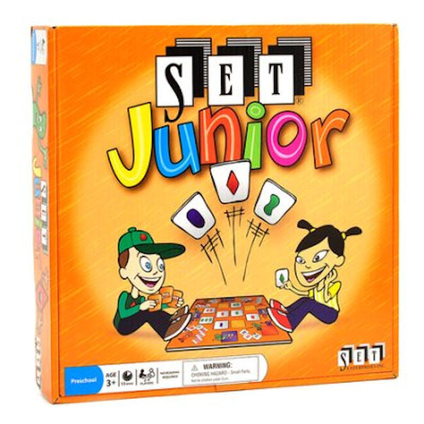 SET Junior Game - EducationalLearningGames.com
