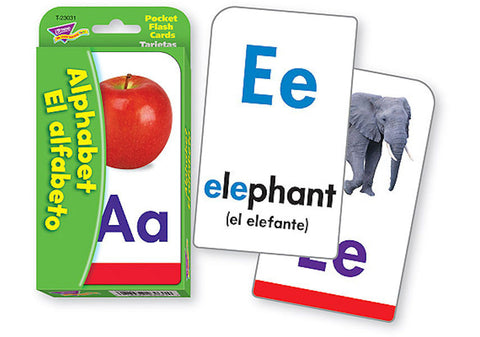 SPANISH Alphabet el Alfabeto Flash Card Game EducationalLearningGames.com