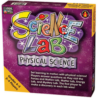 Science Lab Physical Science Grades 4 - 5 Game - EducationalLearningGames.com