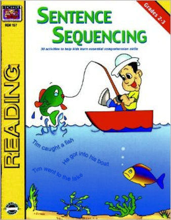 Sentence Sequencing Workbook - EducationalLearningGames.com