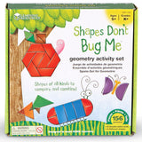 Shapes Don't Bug Me Geometry Activity Set  - EducationalLearningGames.com