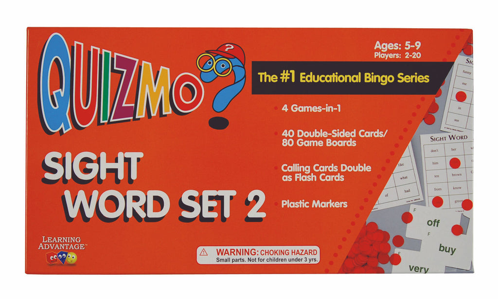 Sight Word Quizmo Set 1 - EducationalLearningGames.com