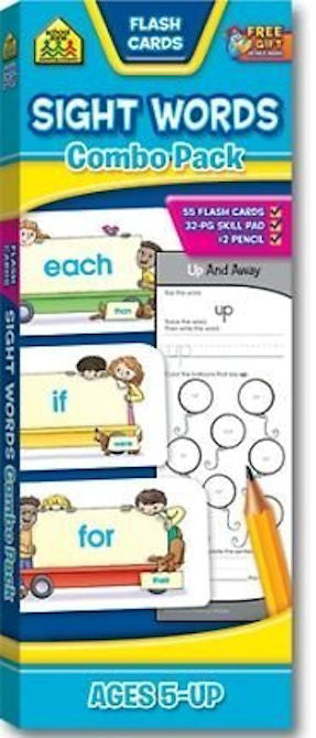 Sight Words Combo Pack - EducationalLearningGames.com