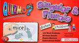 Singular and Plurals Quizmo Game