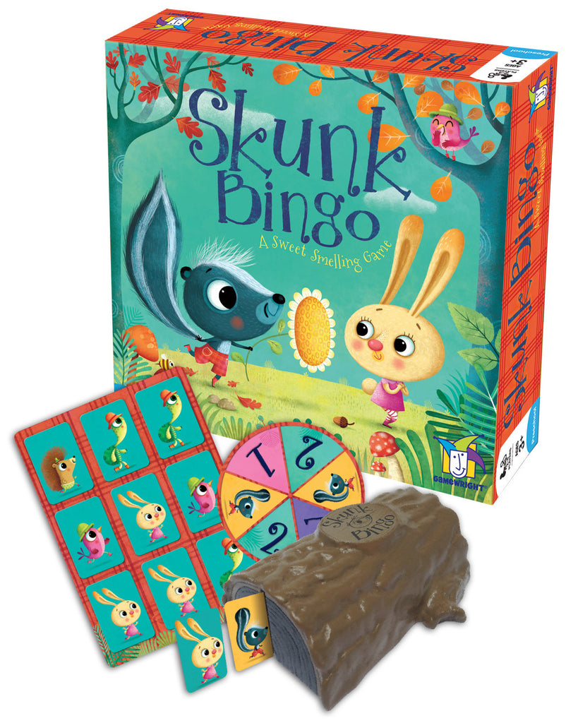 Skunk Bingo A Sweet Smelling Game - EducationalLearningGames.com