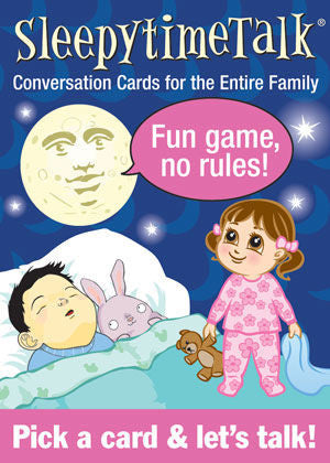 SleepytimeTalk Conversation Cards - EducationalLearningGames.com