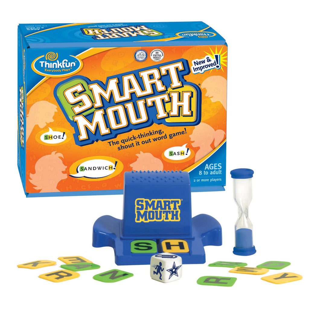 Smart Mouth Word Game - EducationalLearningGames.com